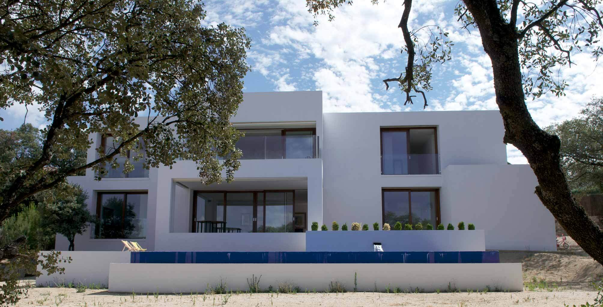 Houses design in Valdemorillo of Madrid