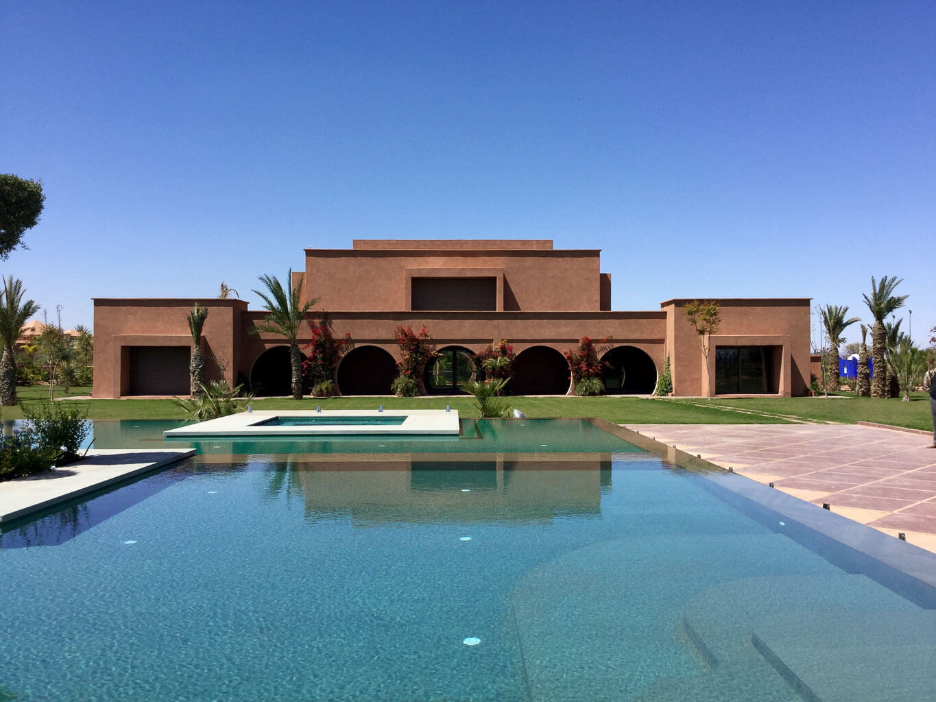 pool design in Marrakech