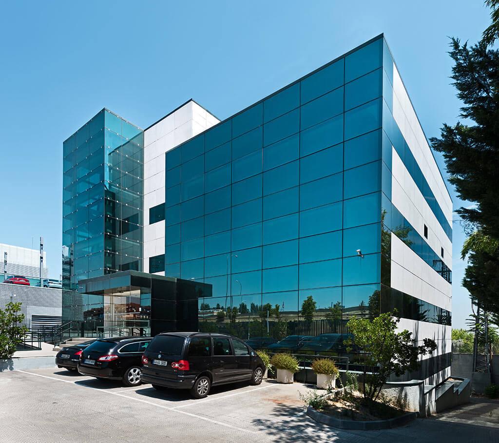 Office design in Madrid