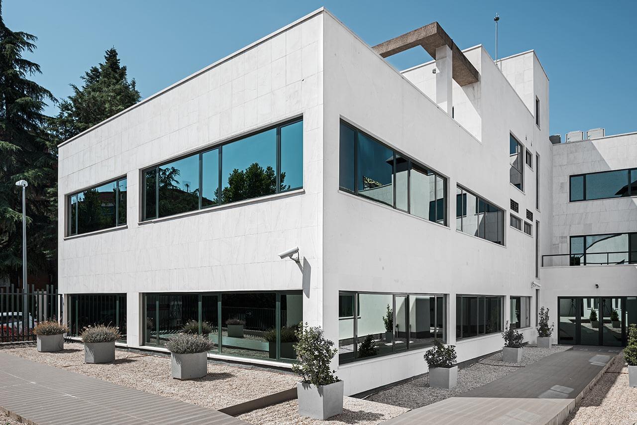 Offices design in Las Rozas de Madrid