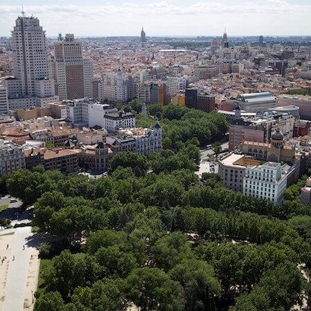 Plaza España Skyline: Real State Project