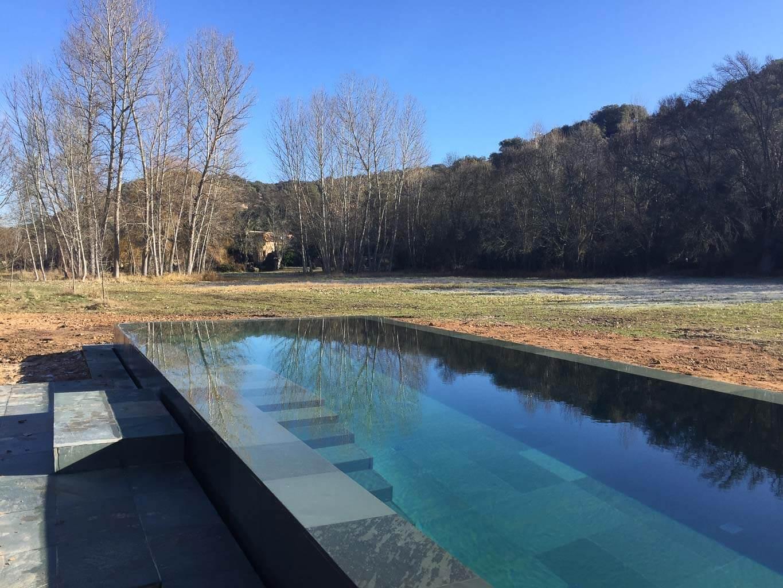 square pool design in Pedraza
