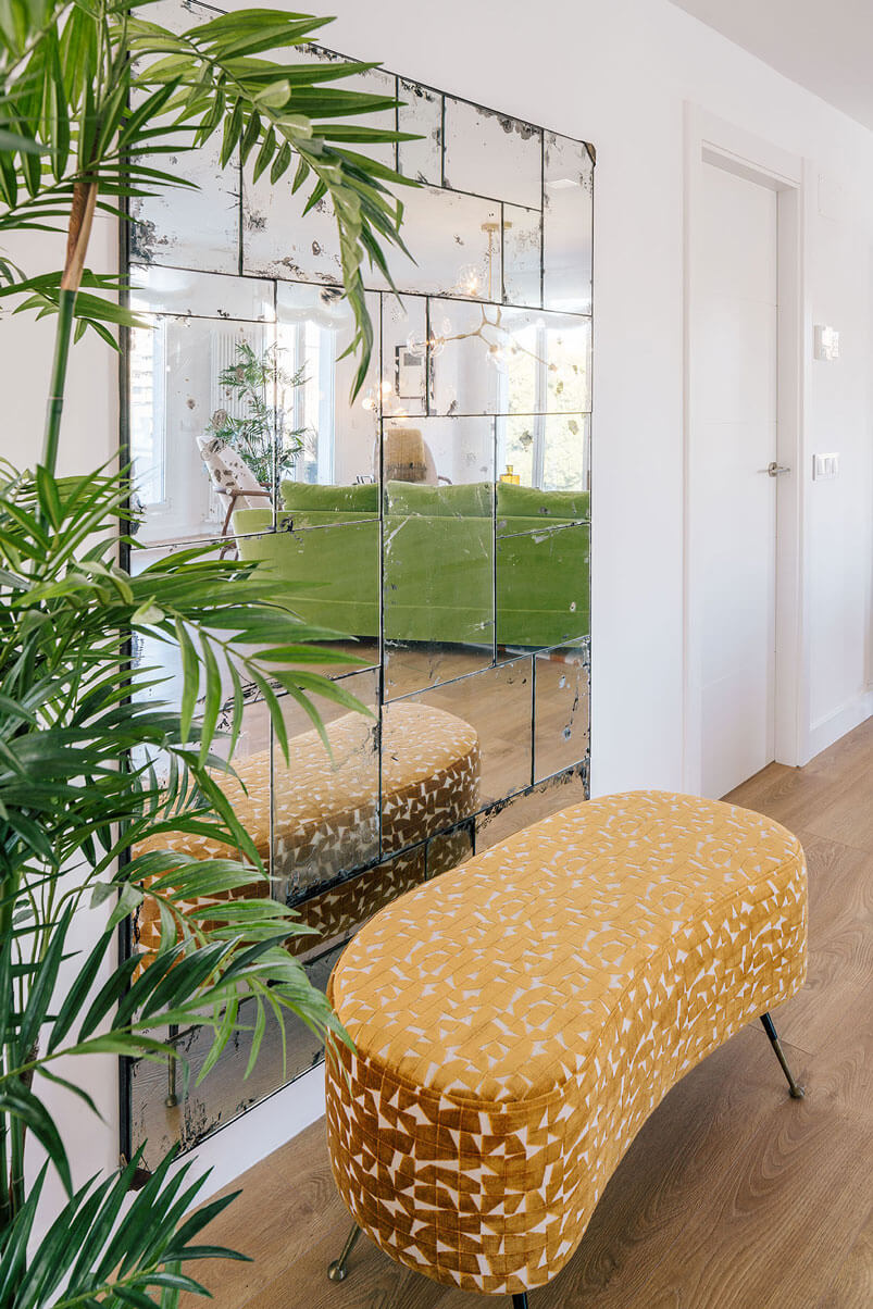 Interior Design In A Luxury Penthouse In Madrid Cat In A Square